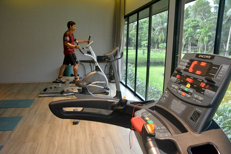 Tusita Wellness Resort Chumphon : Fitness Room