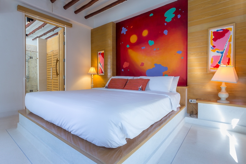Tusita Wellness Resort Chumphon : Beachfront Jacuzzi Pool Villa