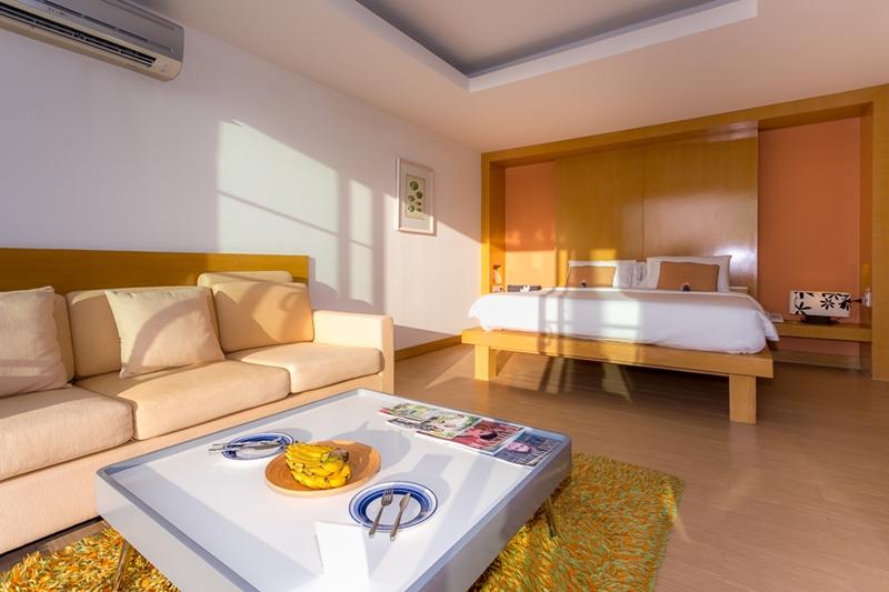 Tusita Wellness Resort Chumphon : Beachfront Jacuzzi Room